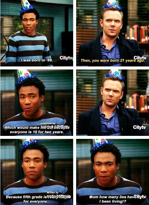 ALL-TIME FAVORITE LINE FROM COMMUNITY. well, right now at least. i might think of another one later on.