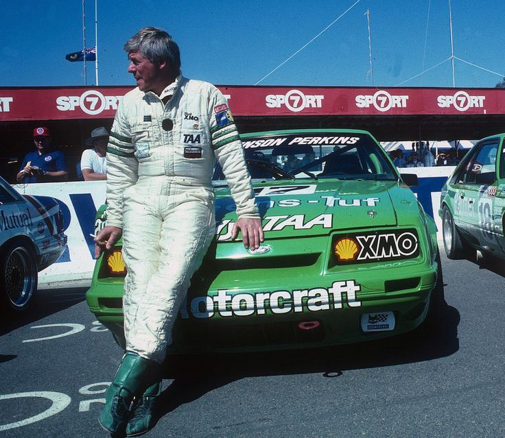 Dick Johnson and his Ford Mustang