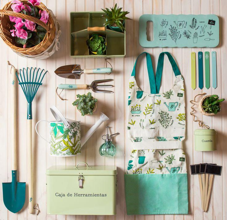 Todas las herramientas para tu #jardín en Casaideas. Primavera - Verano 2016