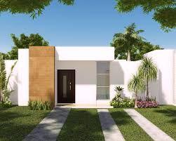 Resultado de imagen para fachadas de casas un piso