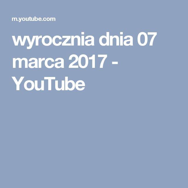 wyrocznia dnia 07 marca 2017 - YouTube