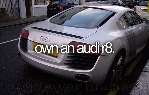 Lol dream car!! <3