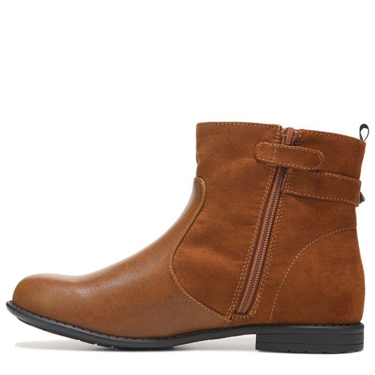 Tommy Hilfiger Kids' Andrea Short Boot Pre/Grade School Boots (Cognac)