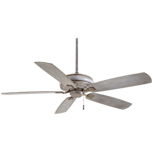Minka Aire Fans Sunseeker Driftwood Ceiling Fan Without Light | F532-DRF | Destination Lighting