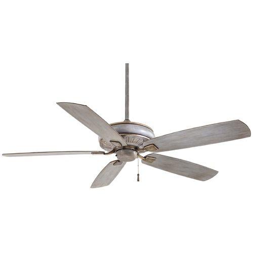 Minka Aire Fans Sunseeker Driftwood Ceiling Fan Without Light | F532-DRF | Destination Lighting