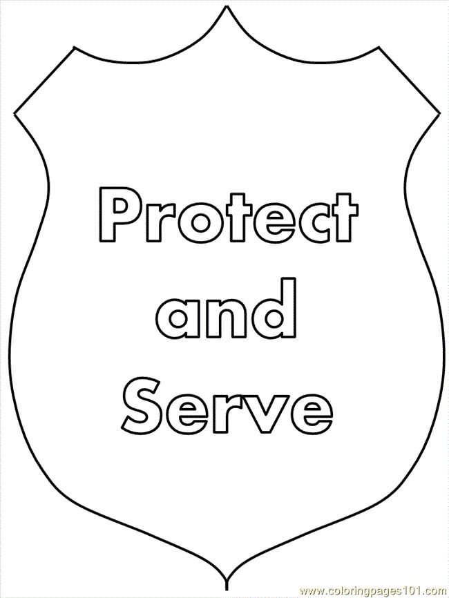 coloring pages police19 peoples police free printable
