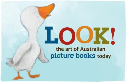 Curated by the State Library of Victoria as part of the National Year of Reading,this exhibition 'Look! The art of Australian picture books today' highlights recent works by Australian illustrators. Now touring the country, it includes original artwork, sketches and published picture books. Quite a colourful feast for the eyes and minds (of all ages) to be inspired by.