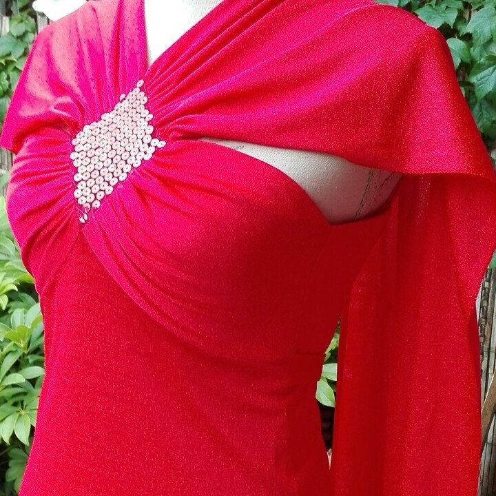 Vestito rosso Amore VINTAGE Dress red woman