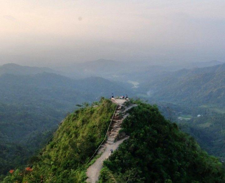 Gunung Kukusan desa wisata nglinggo kulon Progo