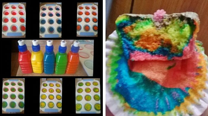 best perfect way for rainbow cupcakes