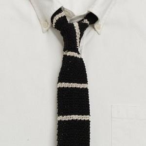 Skinny Knit Tie