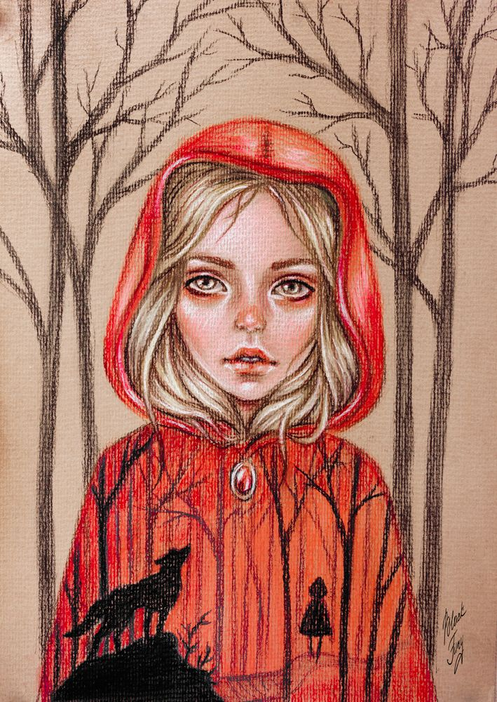 Little Red Riding Hood by BlackFurya.deviantart.com on @DeviantArt