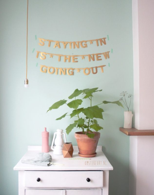 Make Your Own Banner - gold | Word-banners | Een Nieuw Avontuur #webshop #wordlwideshipping #DIYbanner #gold #pastel #interior