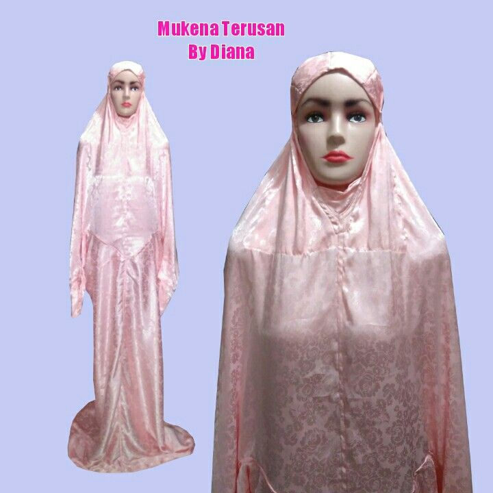 Mukena Terusan Material Jaqat Raflesia Rp 185 Rb 085 222 000 979