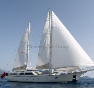 Luxury wg kb 001 gulet charter Greece Turkey 40 meters