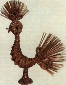 Птица на основе составного каркаса