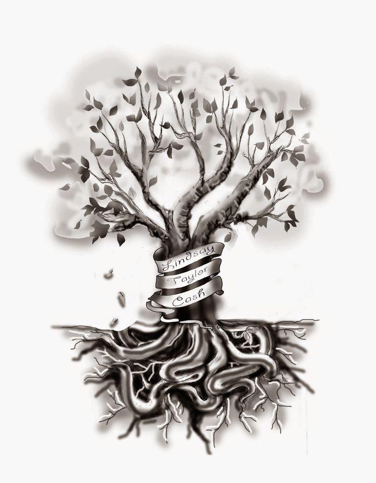 VeggieMuse Tattoos: Custom Family Tree Tattoo Design