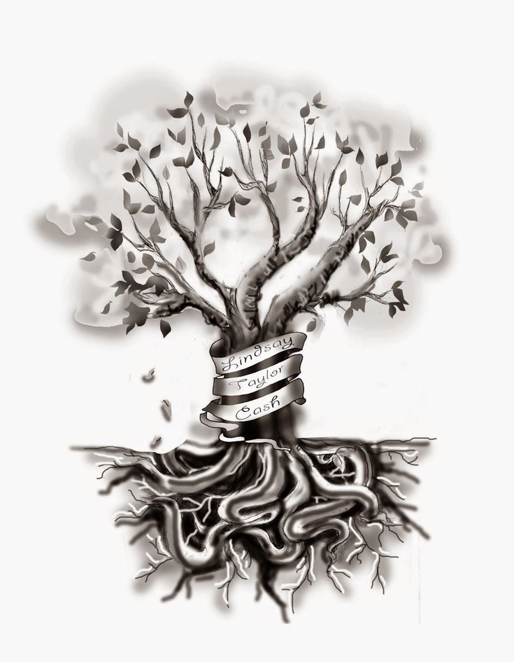 VeggieMuse Tattoos: Custom Family Tree Tattoo Design
