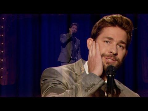 Jimmy Fallon and John Krasinski Battling in an Epic Lip Sync Challenge- smiled like an idiot the entire time watching this and John totally wins.
