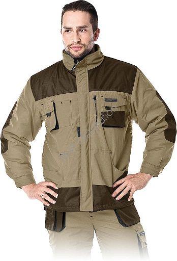 Beżowa kurtka robocza zimowa LH-FMNW-J_BE3