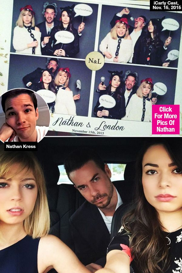 This is the CUTEST! The cast of 'iCarly' came together for one momentous occasion -- co-star Nathan Kress' wedding! Check out the adorable reunion photos that will have you begging for more 'iCarly!'