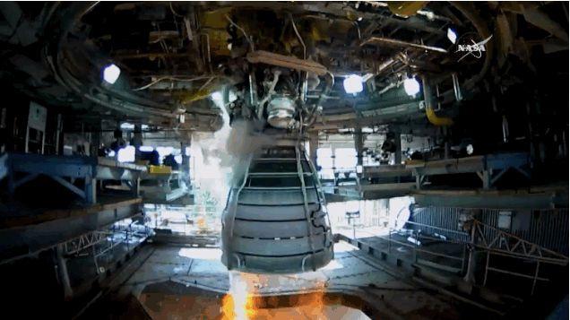 Sabías que La NASA realiza una prueba exitosa del motor de cohete que nos llevará a Marte