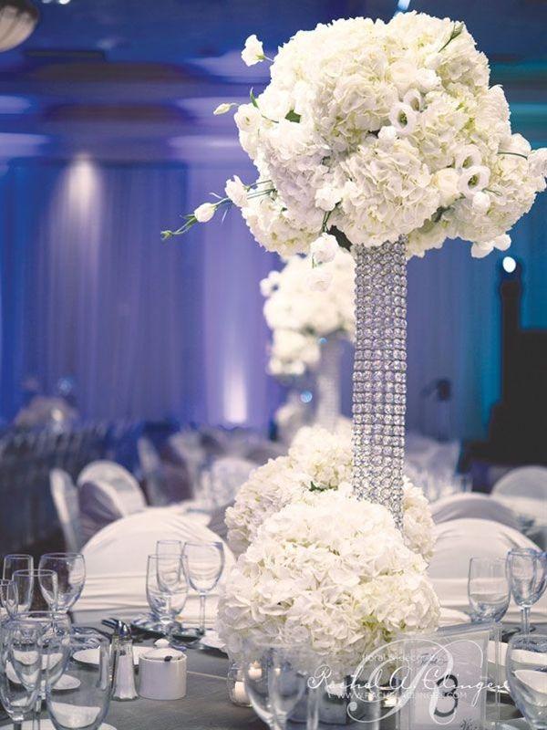 Gorgeous affordable wedding centerpiece ideas white