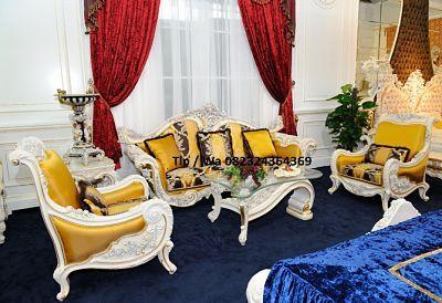 Harga Kursi Sofa Mewah Ruang Tamu Klasik