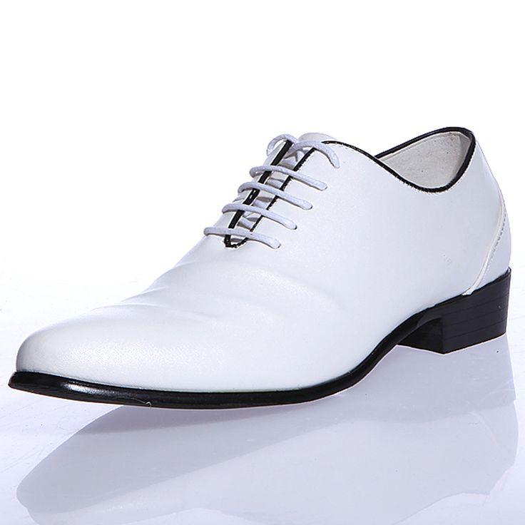 MENS WHITE DRESS SHOES | New Fashion Styles: Stylish Wedding Shoes For Men 2013