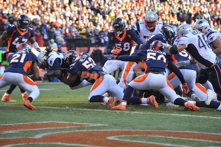 The New England Patriots take on the Denver Broncos in a regular season game at Sports Authority Field at Mile High on Sunday, December 18, 2016.