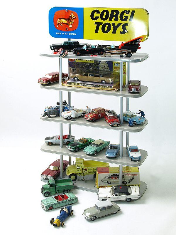 Corgi Toys display