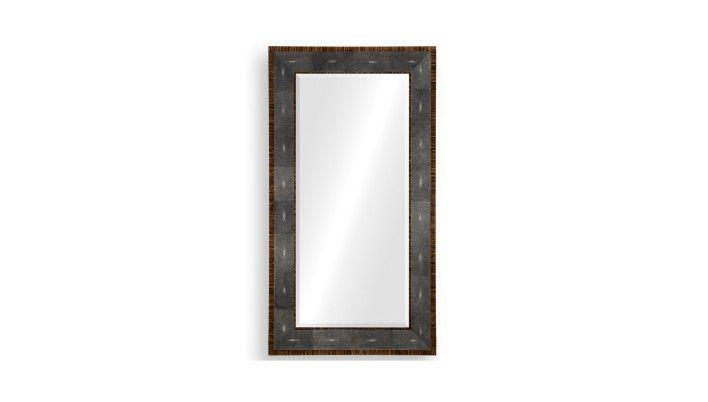 Jonathan Charles - Metropolitan Shagreen Mirror - Buy Online at LuxDeco