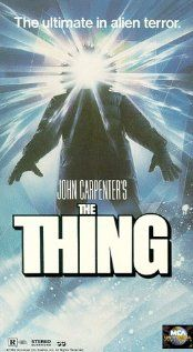 The Thing.   This movie scared the hell out of me when I first watched it as a kid, and it still creeps me out now that I'm supposedly grown up. The sheer 'aloneness' of the film's location is a large part of the creepiness, but the real culprit is the stomach-ripping what-ever-it-is that can infect man or beast and perfectly mimic their natural traits.  It's got some pretty funny moments, too.