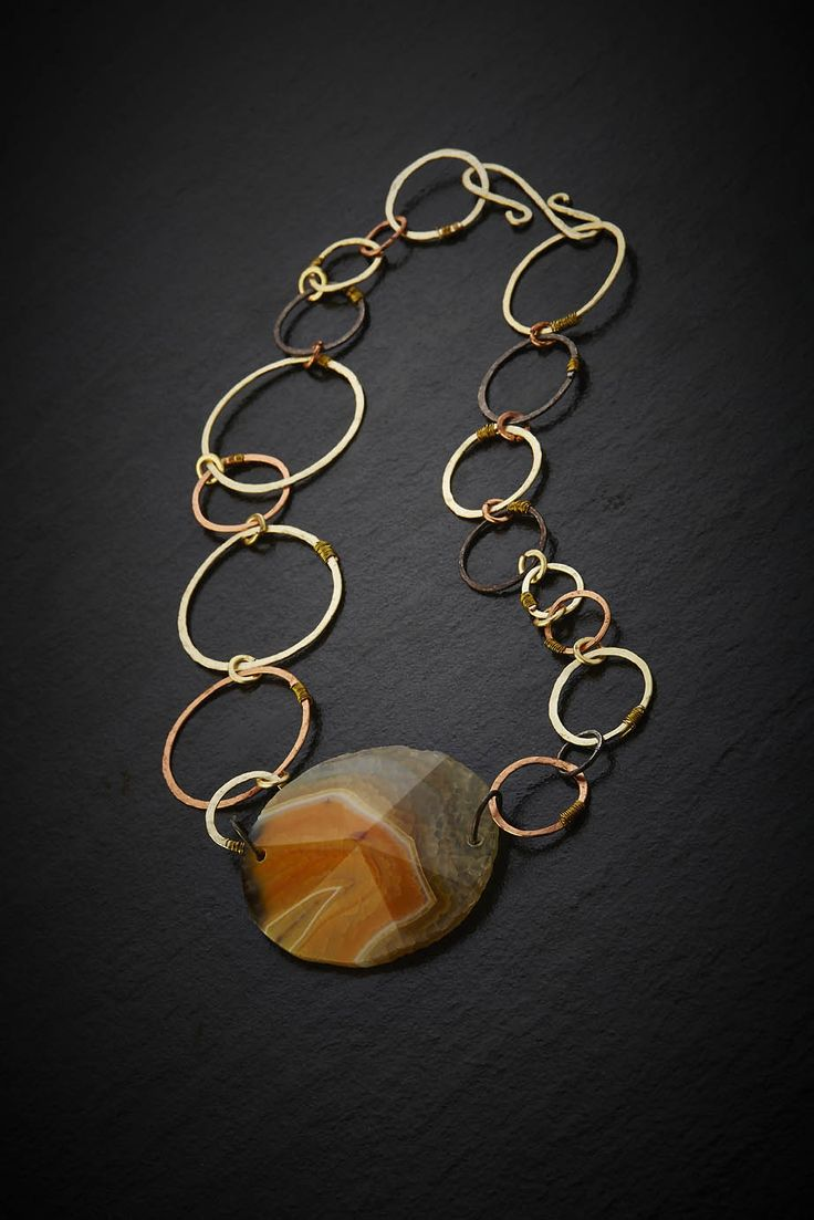 Yellow agate