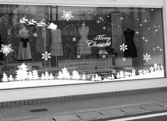 The 25 best Christmas window stickers ideas on Pinterest Window