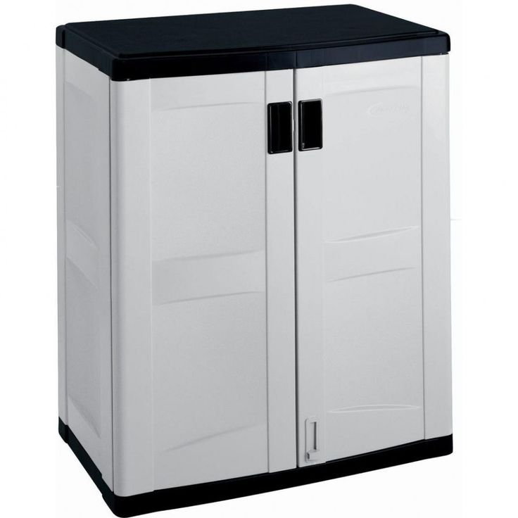 Plastic Storage Cabinets With Doors And Shelves