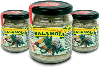 Salamoia Turci http://www.turci.it From #Tuscan #Tradition #Garlic, #sage, #rosemary & #salt. An old and simple Tuscan #recipe handed down through the generations, to season meats, vegetables and fish. It does not contain any preservatives, colourings or artificial flavours. GMO free.