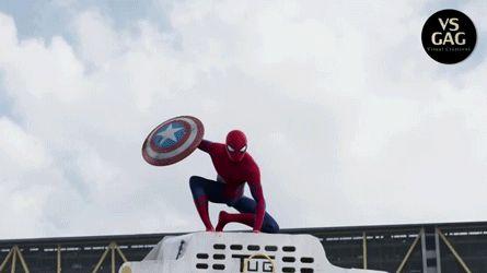 civil war, spiderman | Tumblr