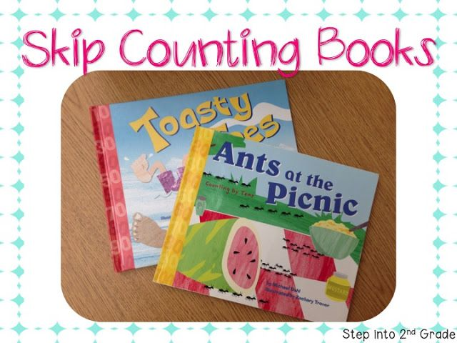 Skip Counting Books- math/literacy connection