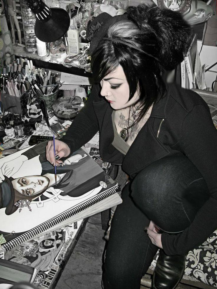 monster.+by+CallowLily.deviantart.com+on+@deviantART
