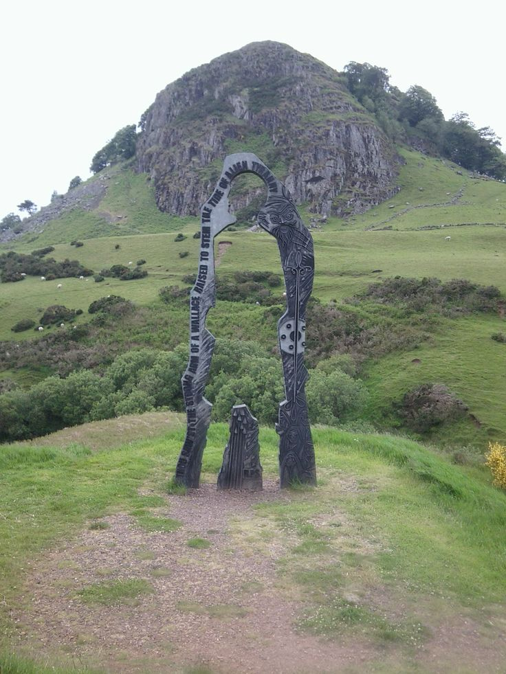 Loudoun Hill - need to look for this arch thing next time at aunt Anne's, must be on the other side of the hill as I've never noticed it before.xx