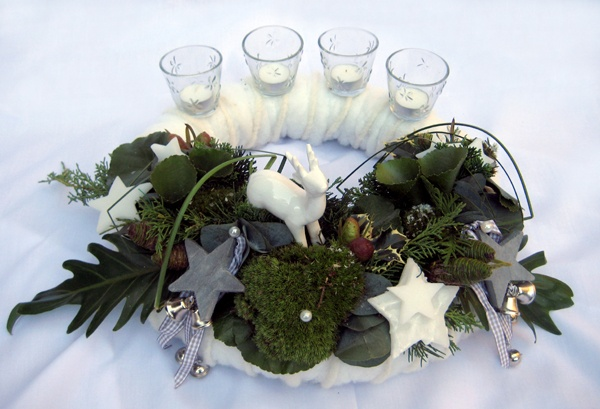 Bloemschikken Rosalie - Advent. Exquisite!