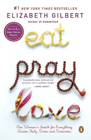 eat. pray. love.