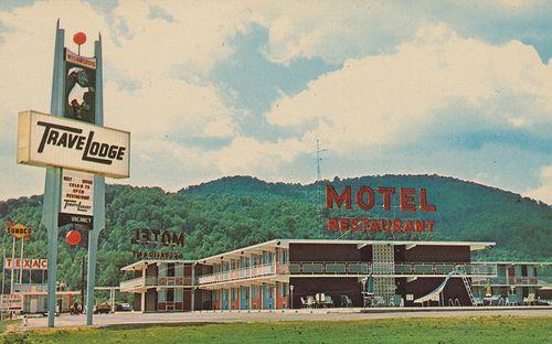 williamsburg kentucky   ... Motel and Hotel Postcard Archive: Travelodge - Williamsburg, Kentucky