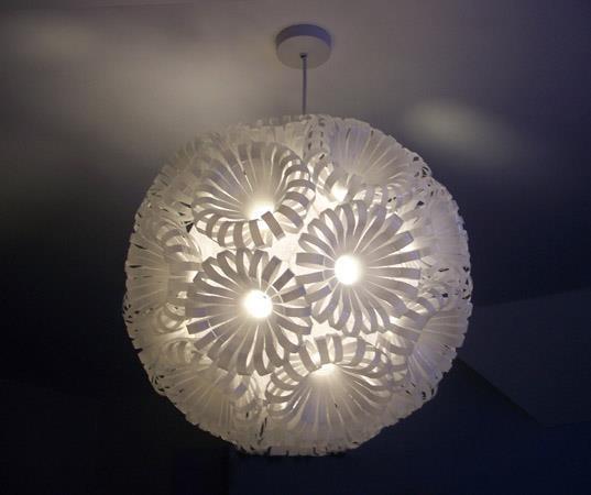 PLASTIC Lantern | trashthetic