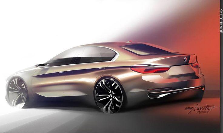 BMW Compact Sedan Concept.