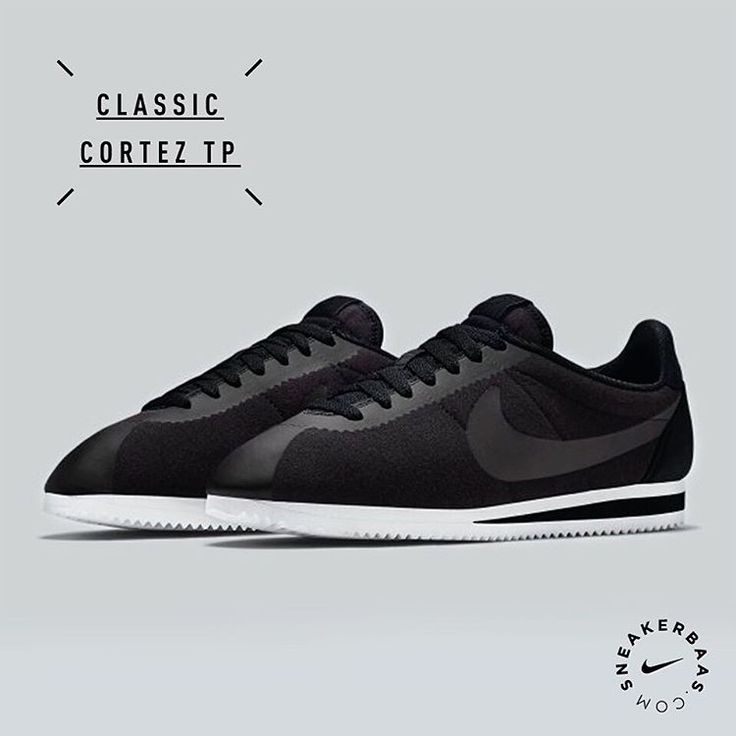 #nike #nikeclassics #cortex #cortezfleece #sneakerbaas #baasbovenbaas  Nike Classic Cortez TP 'Fleece' - The fleece upper perfectly fits on the classic Cortez.  Releases in two colorways: Black & Grey.  Now online available   Priced at 99.95 EU   Men Sizes 41- 46 EU