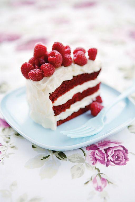 Raspberry cake!