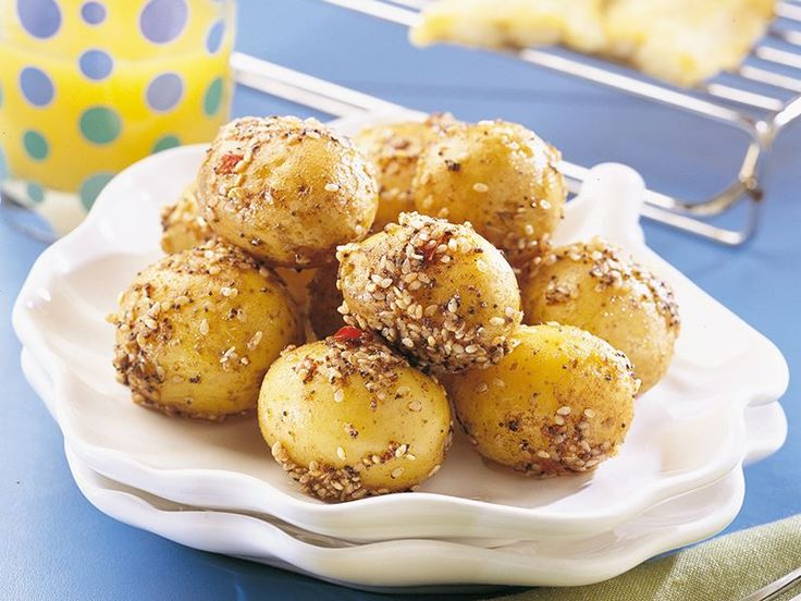Susamlı Ve Körili Patates Tarifi - Lezzet