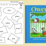 """A few years ago I ran a contest where teachers submitted Kevin Henkes lesson ideas and printables. Here is one that was submitted to use with the book Owen. Click here to see and purchase the book on Amazon. Renee Liles/Arkansas shares: """"Owen is another one of our favorite Kevin Henkes books. We read the …"""